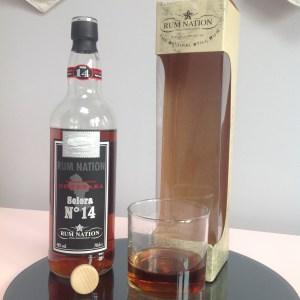 Rum Nation Solera No14 Demerara Rum Review by the fat rum pirate