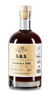 S.B.S - The 1423 Single Barrel Selection Venezuela 2006 rum review by the fat rum pirate