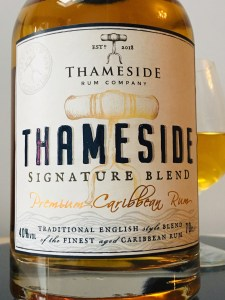 Thameside Signature Blend Premium Caribbean Rum Review by the fat rum pirate