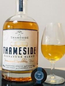 Thameside Signature Blend Premium Caribbean Rum Review by the fat rum pirate
