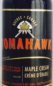 Tomahawk Maple Rum Cream review by the fat rum pirate