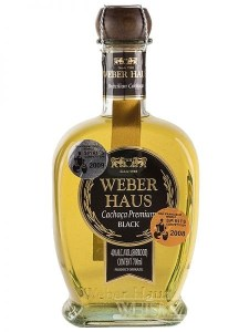 Weber Haus Cachaca Premium Black Rum Review by the fat rum pirate