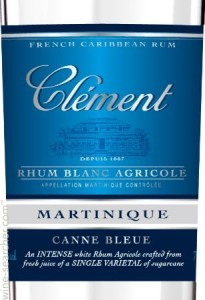Clement Canne Bleue Rum review by the fat rum pirate