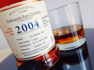 Foursquare Rum Distilery 2004 rum review by the fat rum pirate