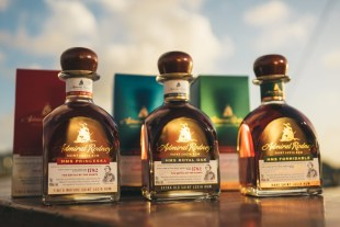 Admiral Rodney St Lucia Rum HMS Princessa Review by the fat rum pirate