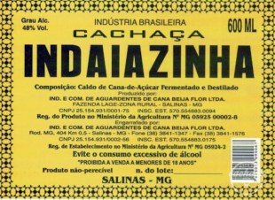 Cachaca Indaiazinha Rum Review by the fat rum pirate