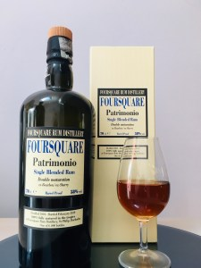 Foursquare Rum Distillery Patrimonio Rum Review by the fat rum pirate