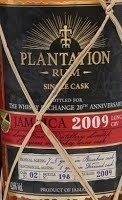Plantation Jamaica 2009 Long Pond CRV - The Whisky Exchange Exclusive Rum Review by the fat rum pirate