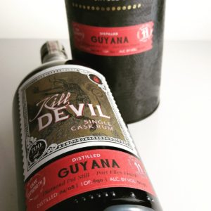 Kill Devil Guyana Aged 11 Years - Port Ellen Finish Rum Review by the fat rum pirate