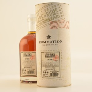 Rum Nation Rare Rums Savanna 2006/2016 10 Year Old rum review by the fat rum pirate