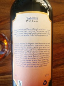Levy Lane Rum Co. Tamosi Port Cask rum review the fat rum pirate