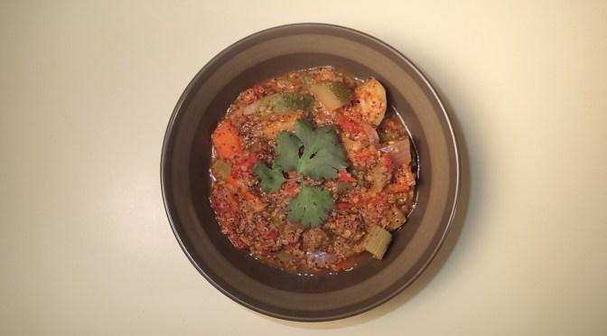 Peruvian inspired Kaniwa, quinoa, and amarath pilaf