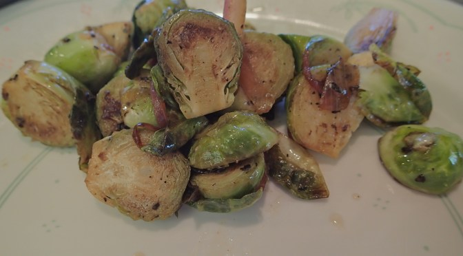 Tip and technique – cooking brussels sprouts