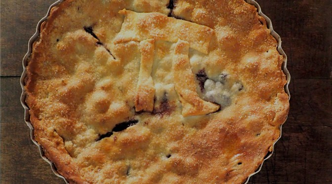 Blueberry Chocolate Chip Pie