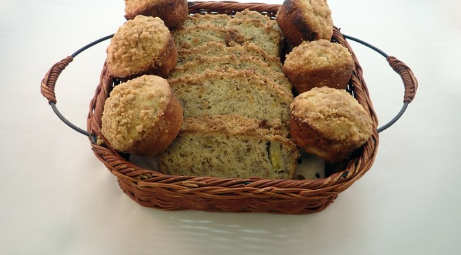Banana bread and or muffins