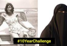 "Man Comments ""Talaq, Talaq, Talaq"" After Seeing Wife's #10YearChallenge Pictures"