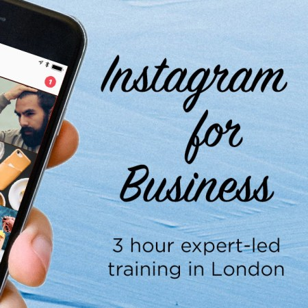 nstagram training workshop | MLPR | Marie Louise Pumfrey