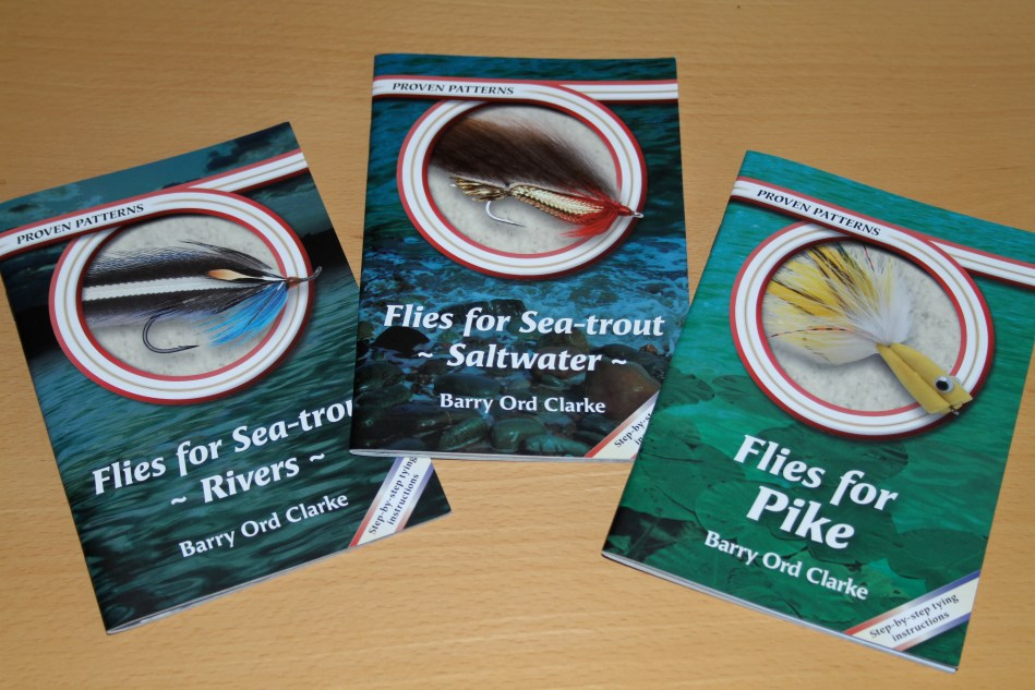 The first three fly tying booklets in the series Proven Patterns are available now.