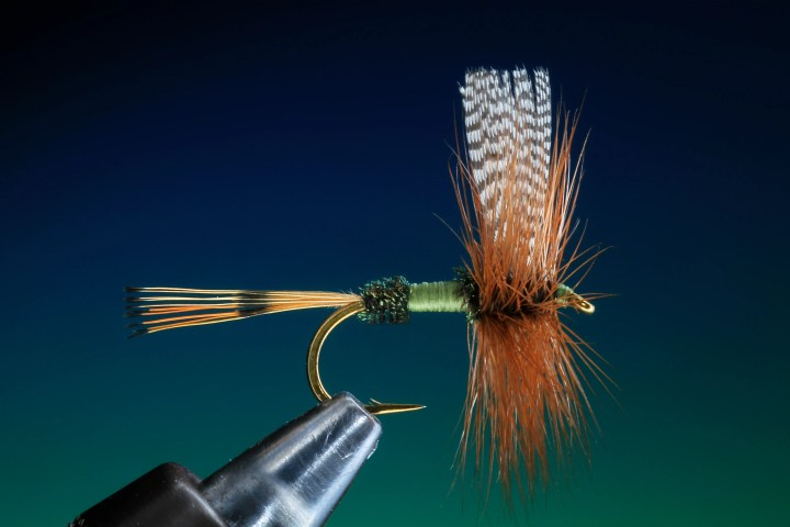 fly tying traditional dry fly by barry ord clarke