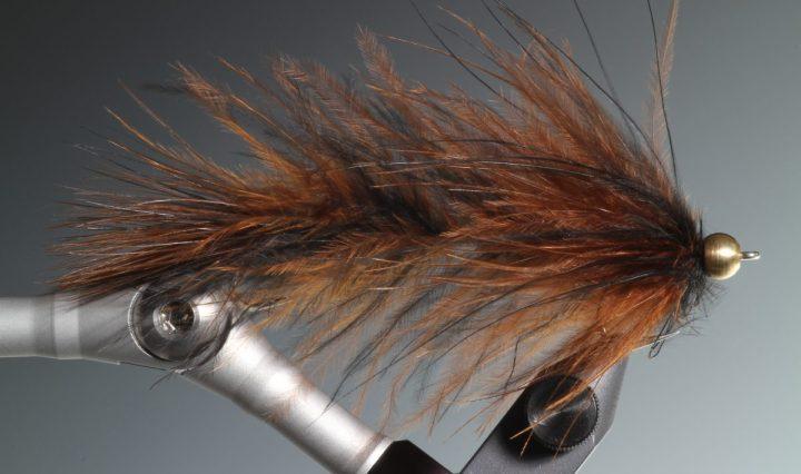 Rag worm streamer tied by Barry Ord Clarke