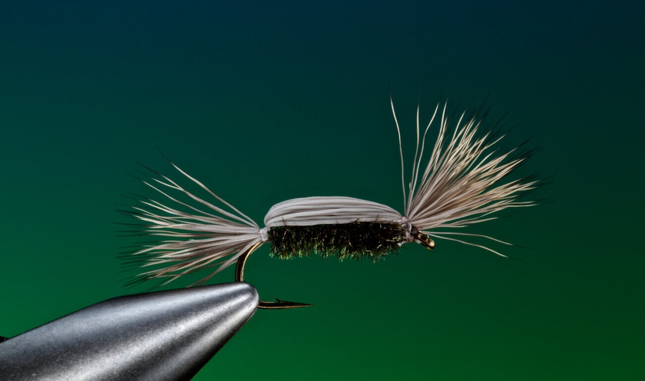 Tying Tom Thumb fly step by step Barry Ord Clarke