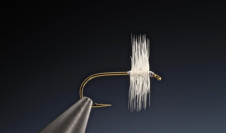 how to Dry Fly hackle tying technique