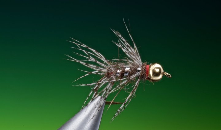 Hares ear Partridge nymph tied by Barry Ord Clarke