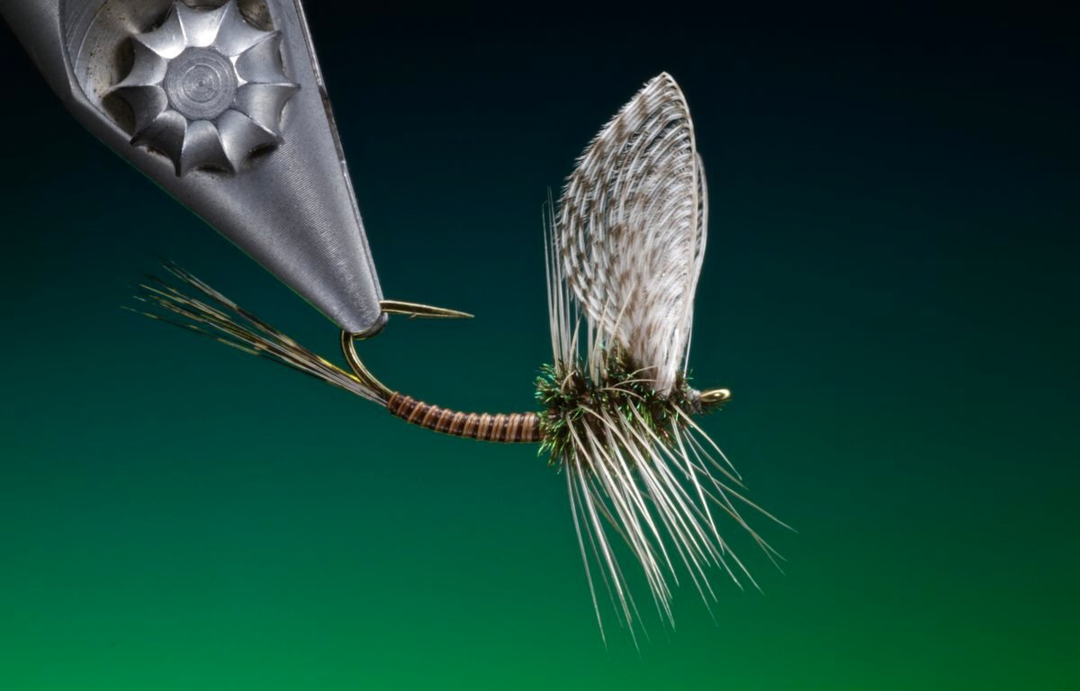 How to tie wally wing mayfly dun