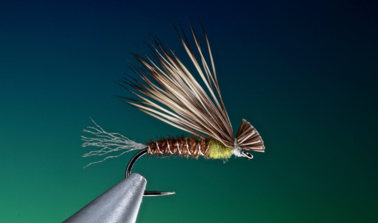 Pheasant tail X-Caddis tied by Barry Ord Clarke