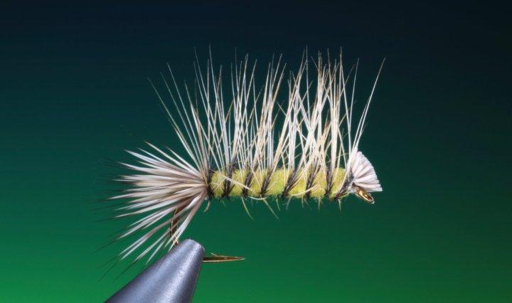 fly tying Dyret dry fly