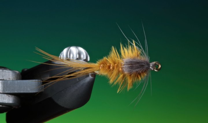 fly tying Generic Marabou nymph