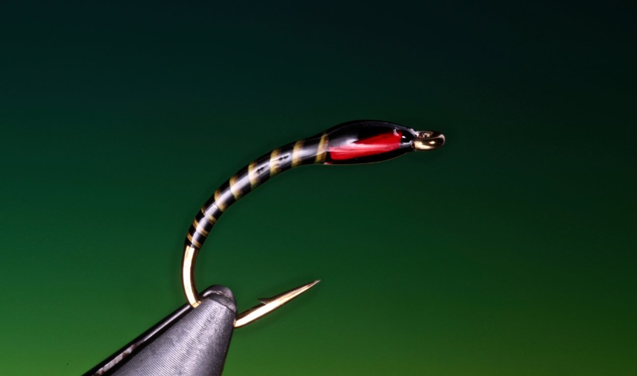 Yellow quill buzzer tied by Barry Ord Clarke