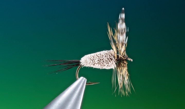 fly tying Adams irresistible dry fly
