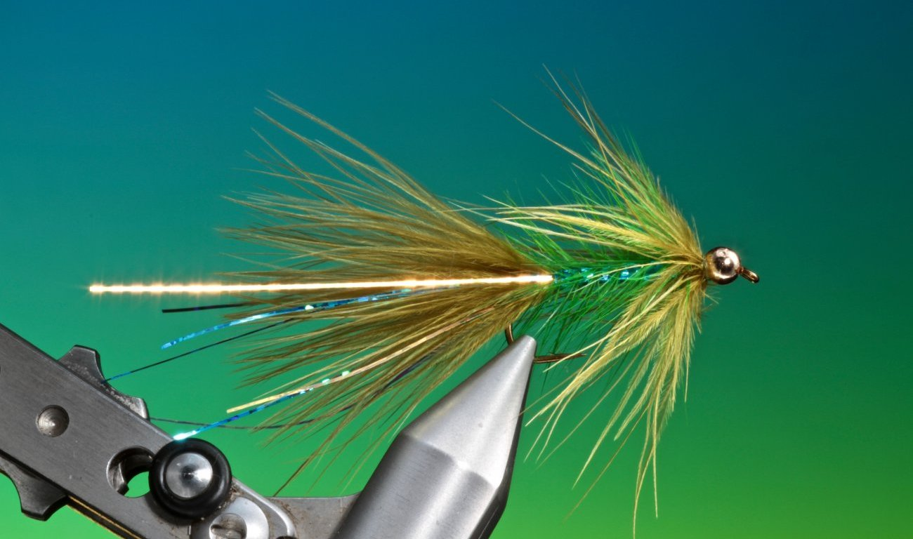 fly tying blue flash damsel