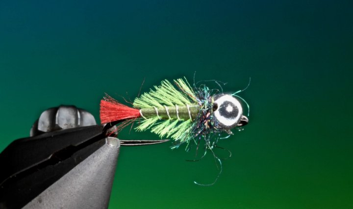 fly tying bottom crawler jig nymph