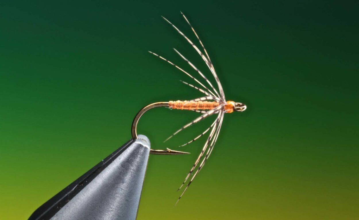 how to tie Partridge & Orange spider