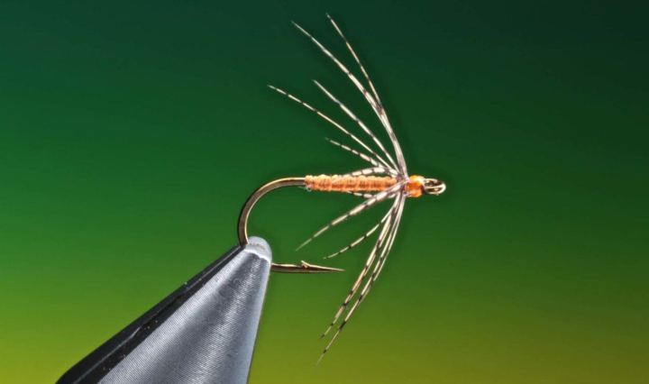 Partridge and Orange spider tied by Barry Ord Clarke