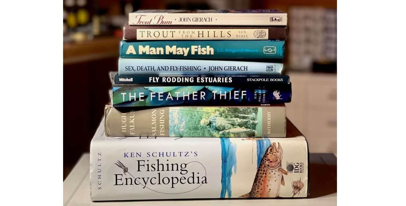 8 best fly fishing books Barry Ord Clarke recommendation