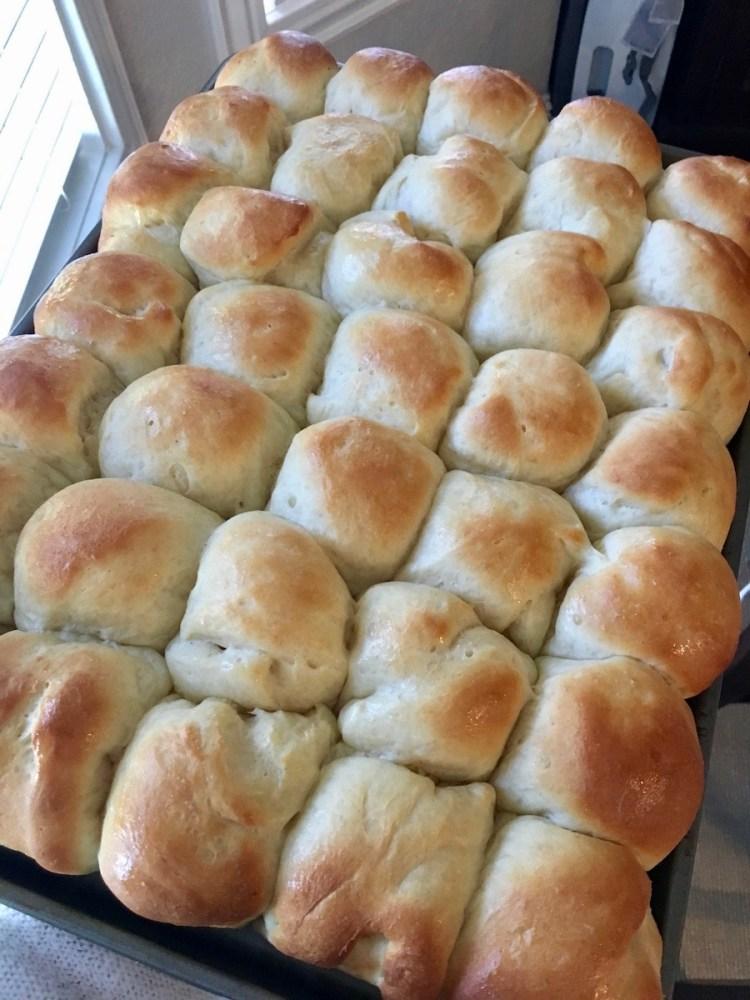 grandma's potato rolls