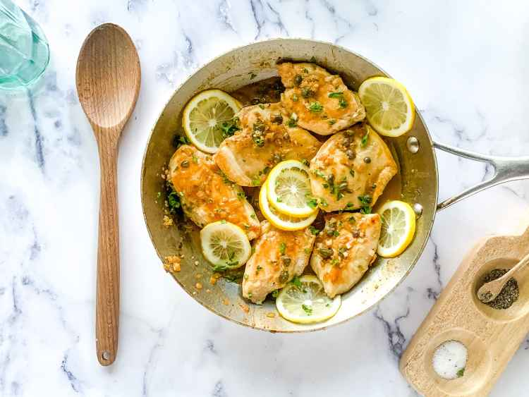 easy lemon chicken piccata