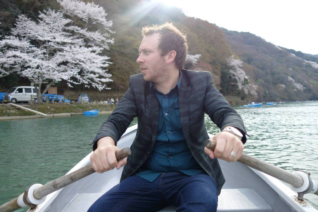 My favorite thing we did in Japan hands down - rowing down the Katsuragawa River