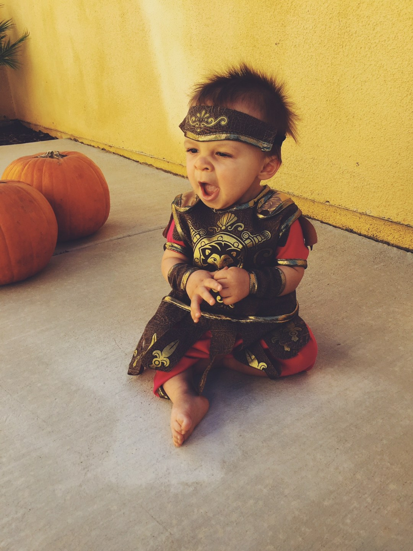 Baby Gladiator Costume - The February Fox