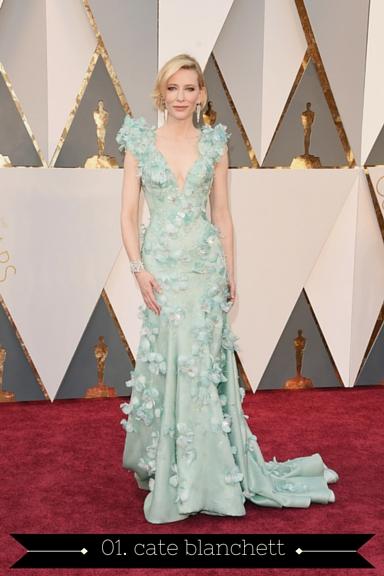 Cate Blanchett 2016 Oscars - TheFebruaryFox.com