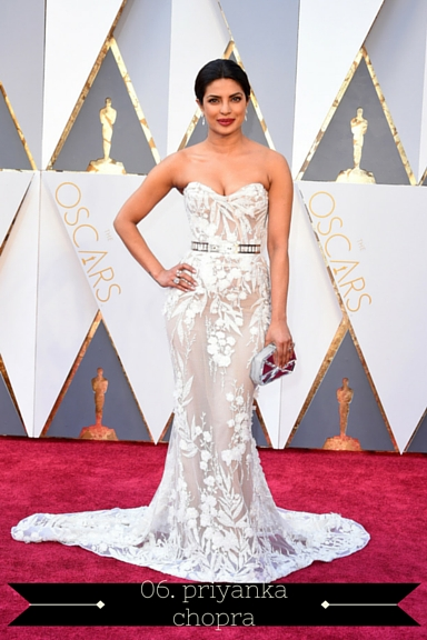 Priyanka Chopra 2016 Oscars - TheFebruaryFox.com