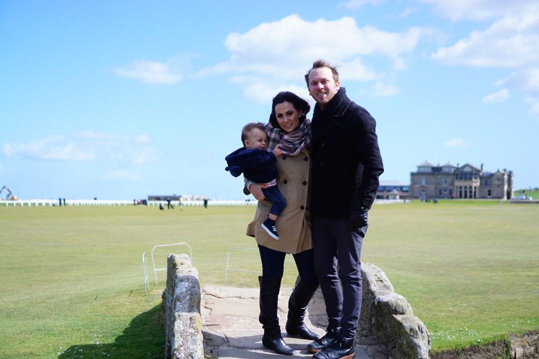 "St. Andrews Links, Scotland ""Home of Golf"""