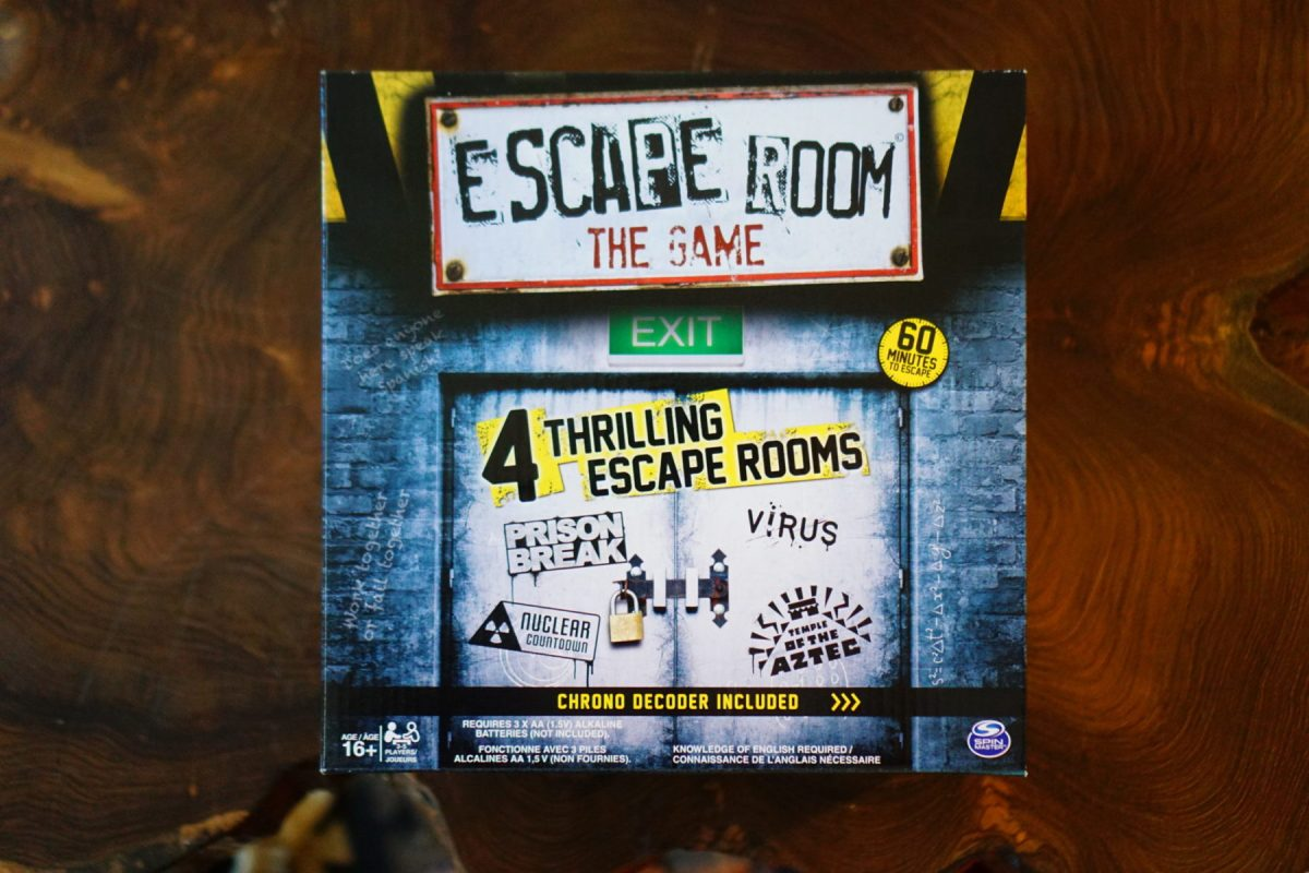 Navigating an Escape Room from Home!