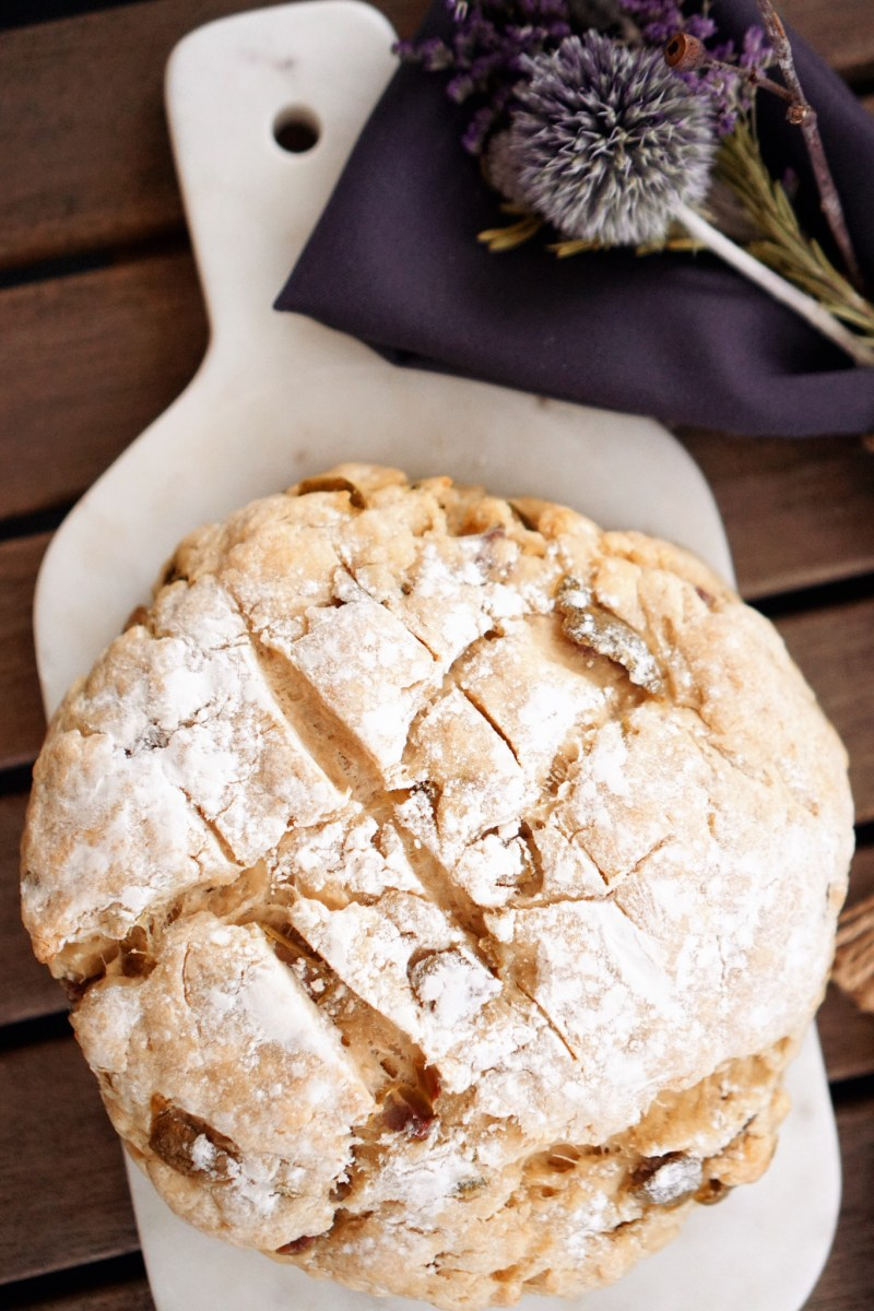 Jalapeño Olive Bread + the Family Tradition I'm Reviving This Easter