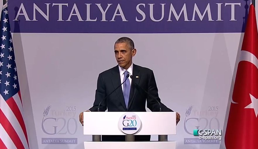 Obama On His ISIS Strategy: I'm Not Interested In 'American Leadership, Or America Winning'