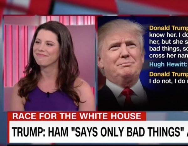 Trump: Mary Katharine Ham 'Says Only Bad Things'