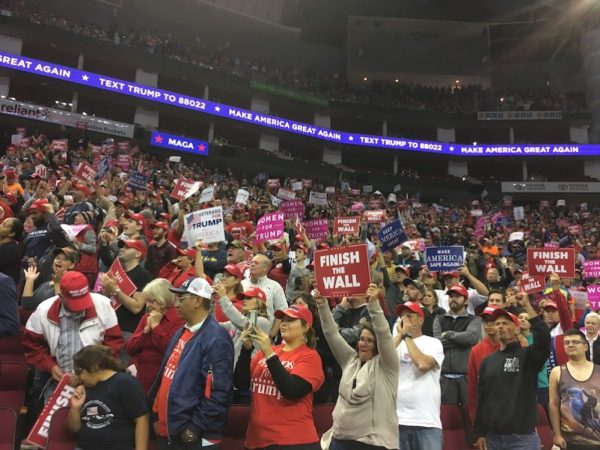Trump's Rally For Ted Cruz In Houston Was A Preview Of 2020